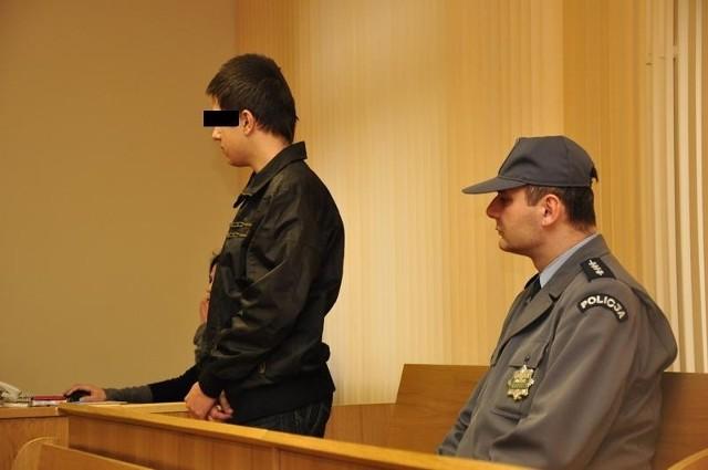 Kamil P. przyznał się do winy, ale odmówił składania zeznań.
