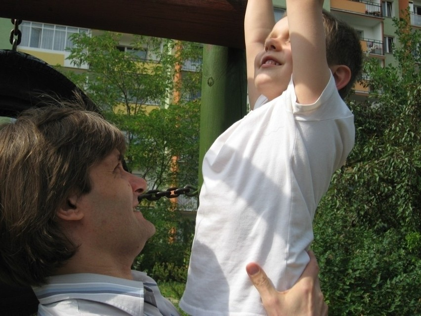 Piotruś/Kuba i jego ojciec