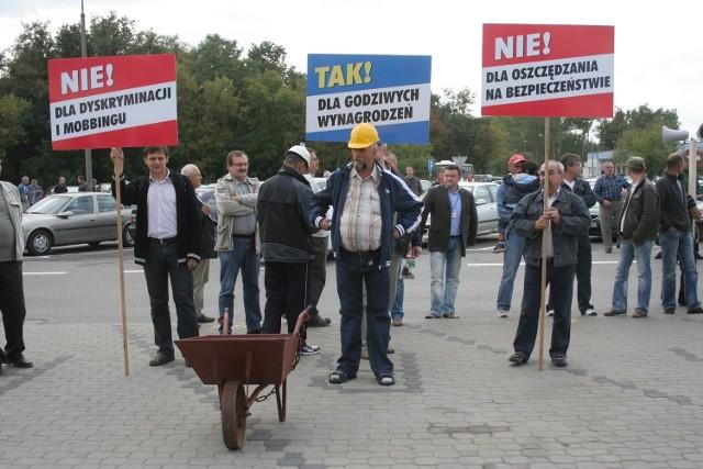 Pracownicy Puławskich Azotów za strajkiem