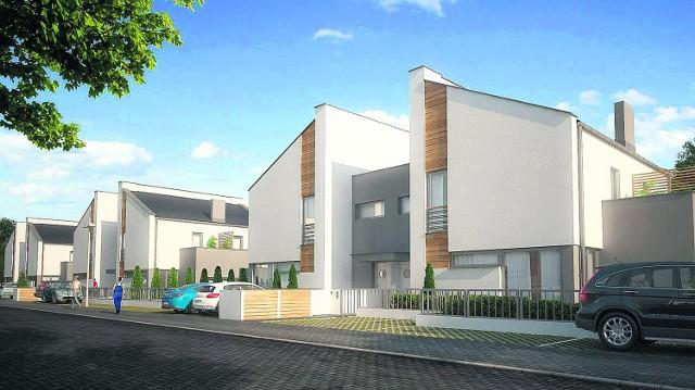 Pierwsze mieszkania  wybudowane  w ramach IIetapu osiedla Świerkowa Polana w Robakowie  dostępne będą już w  III kwartale tego roku