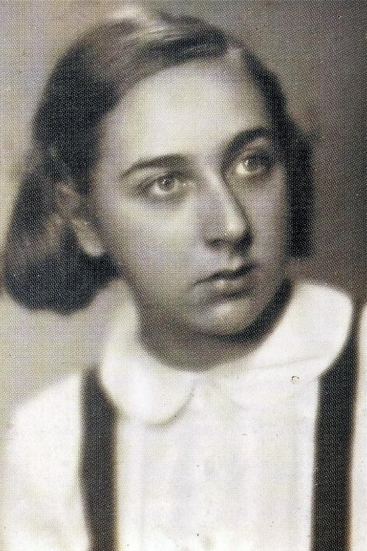 Zdjęcie Helgi Weissovej z czasów wojny