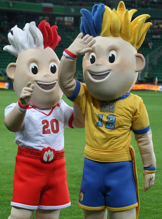 Maskotki Euro 2012 są już gotowe do gry