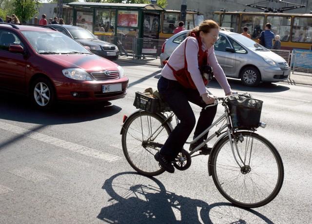 Rowerzyści nie czują się bezpiecznie na łódzkich ulicach