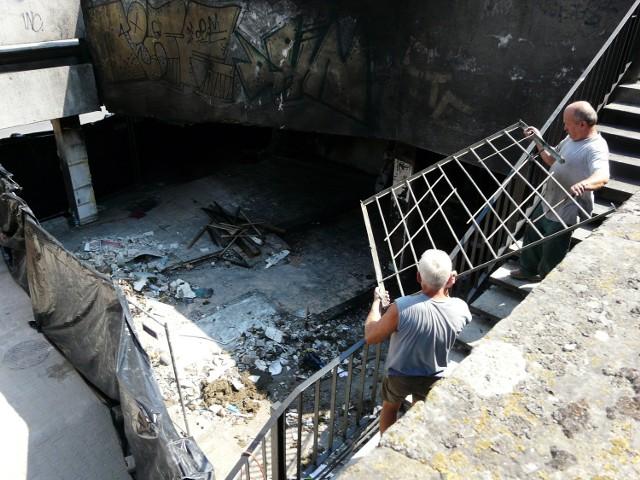 Prace porządkowe w miejscu eksplozji dobiegają końca