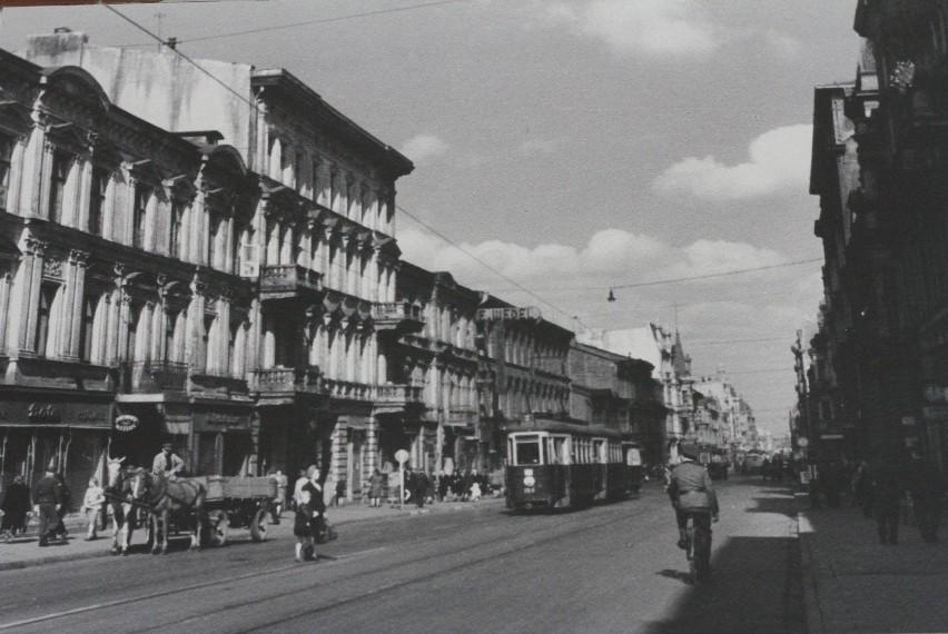 Łódź w czasie okupacji niemieckiej (zbiory Muzeum Tradycji...
