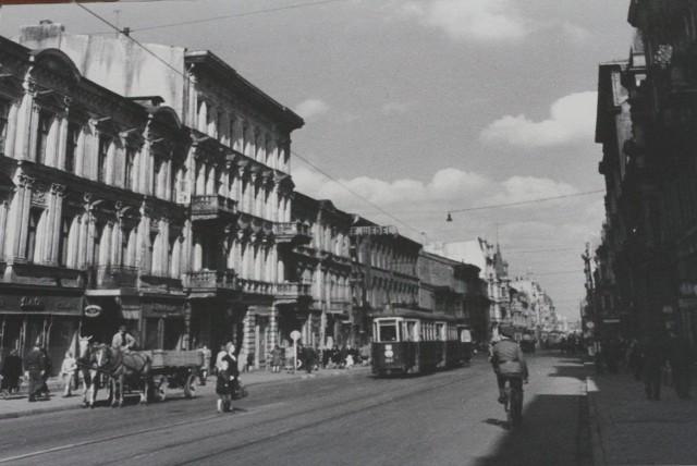 Łódź w czasie okupacji niemieckiej (zbiory Muzeum Tradycji Niepodległościowych w Łodzi)