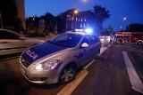 Kraków: wypadek BMW na alei Pokoju