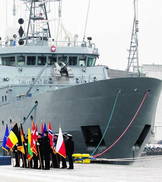 Okręt polskiej Marynarki Wojennej Kontradmirał Xawery Czernicki