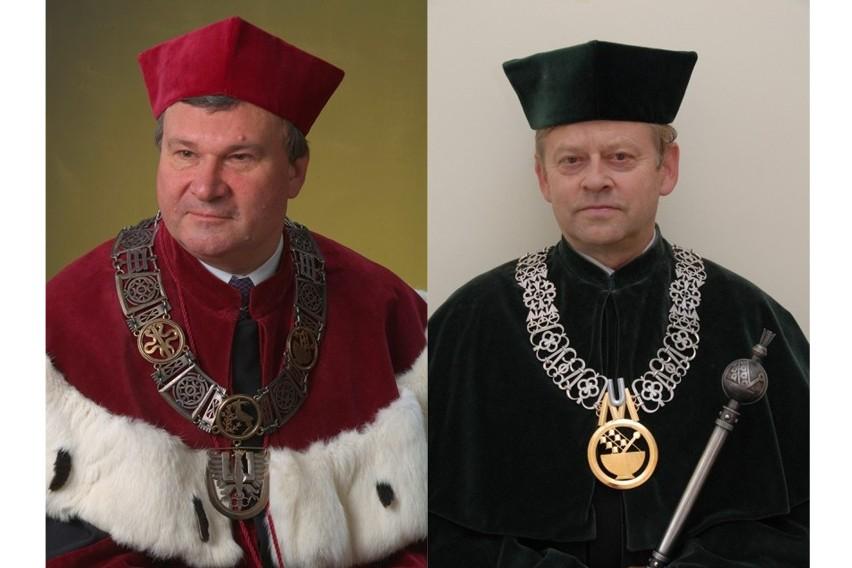 Profesor Andrzej Drop i profesor Janusz Solski powalczą o tytuł rektora UM Lublin.