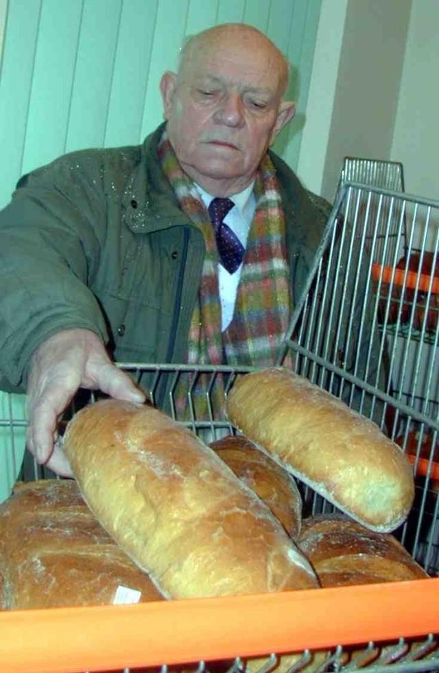 Mieczysław Izydorczyk stara się, by nie brakowało chleba