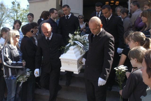 Pogrzeb nieznanego chłopca w Cieszynie