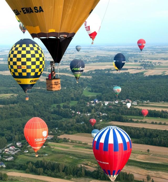 Zawody balonowe o puchar SPA Nałęczów
