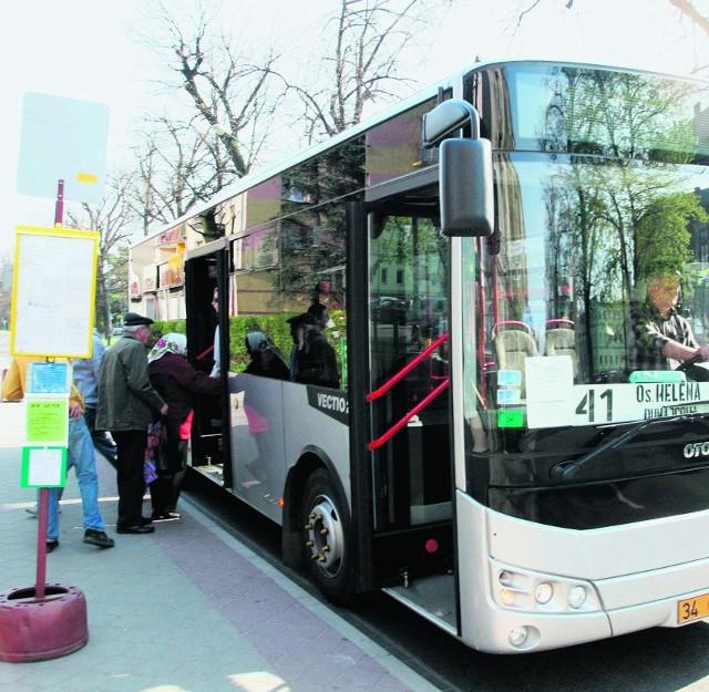 Turecki autobus wozi sądeczan po liniach 7, 23 i 41