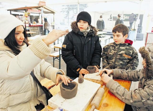 Na rynku w Swarzędzu były m.in. organizowane pokazy i zajęcia dla młodzieży