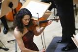 Rosyjska skrzypaczka Alena Baeva wystąpiła w Filharmonii Poznańskiej [ZDJĘCIA]