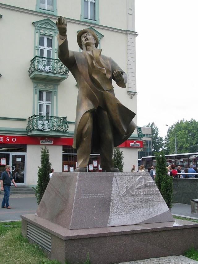 Pomnik Kiepury w Sosnowcu
