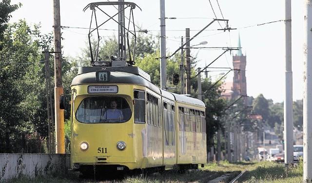 Od poniedziałkowej nocy do Ozorkowa nie będzie jeździć tramwaj linii 46