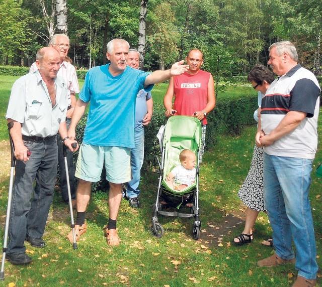 Jaworznianie z Borów nie pozwolą na likwidację parku