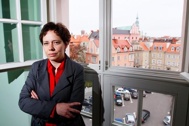 Joanna Bielawska-Pałczyńska, nowa konserwator zabytków w Poznaniu.