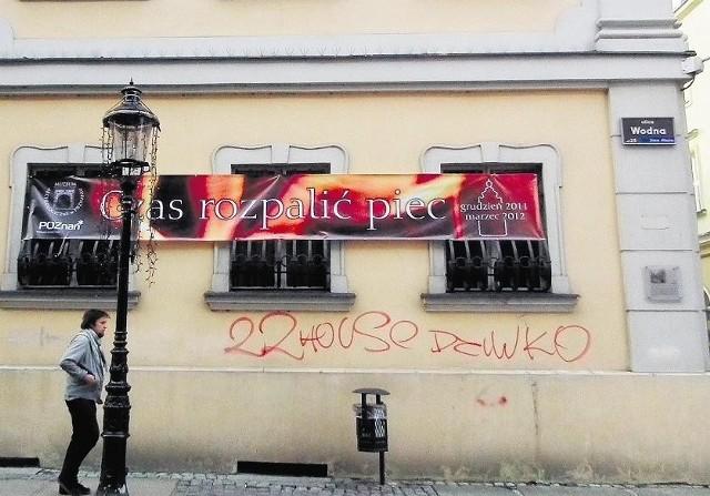 Graficiarze zniszczyli ściany Muzeum Archeologicznego
