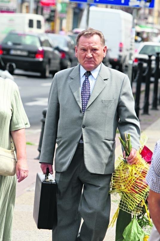 Esbek Stanisław Kłys nie chce rozmawiać z prasą