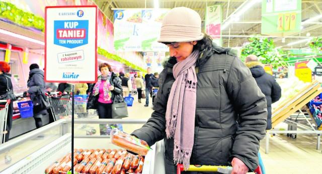 Elżbieta Kasieta korzysta z kuponów w każdym tygodniu