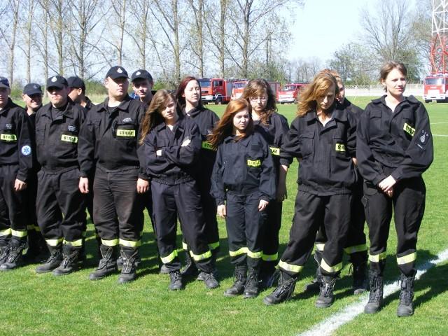 O zwycięstwo wśród kobiet walczyły też ratowniczki z Pecnej