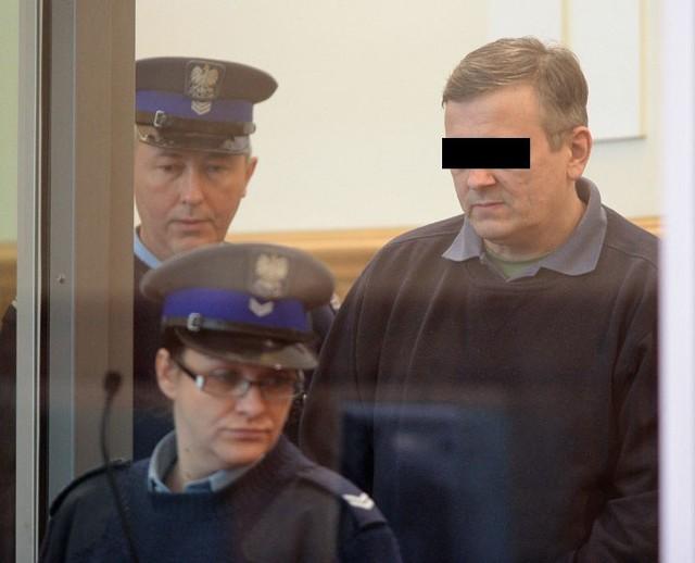 Były policjant oskarżony o zamordowanie swoich dzieci stanął przed łódzkim sądem