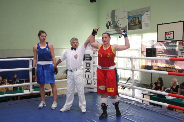 Lidia Fidura po finałowej walce