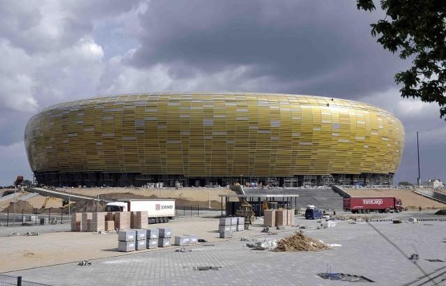 PGE Arena czeka decyzję strażaków
