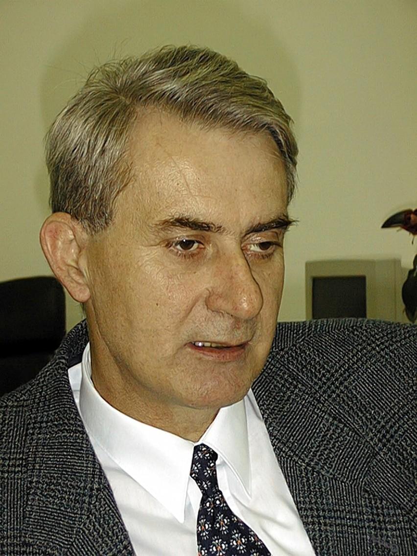 Mariusz Poznański, wójt gminy Czerwonak.