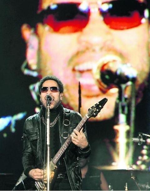Lenny Kravitz wystąpił w ubiegłym roku na Rock In Rio w Lizbonie