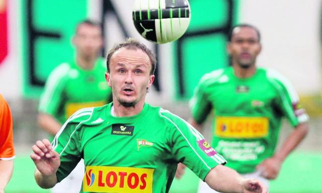 Paweł Nowak to ważny zawodnik w środkowej linii Lechii