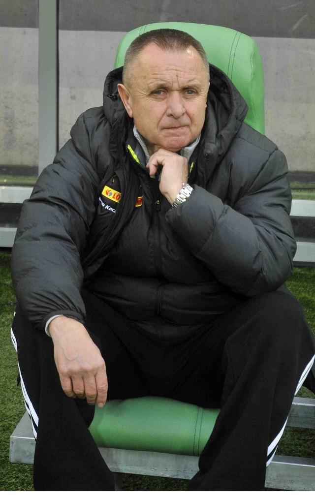 Bogusław Kaczmarek, trener Lechii Gdańsk