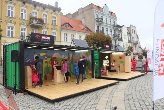 Planeta Energii w Gnieźnie. Na Rynku stanęła mobilna strefa nauki