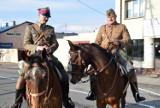 Kawaleria na ulicach Skierniewic wzbudziła duże zainteresowanie [ZDJĘCIA]