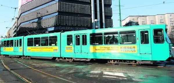 Niemiecki 27-letni tramwaj testowano w Katowicach i Chorzowie