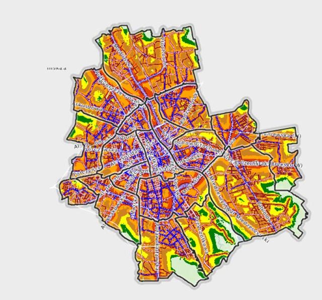 Mapa akustyczna Warszawy. Sprawdź gdzie nie warto kupować lub wynajmować mieszkania