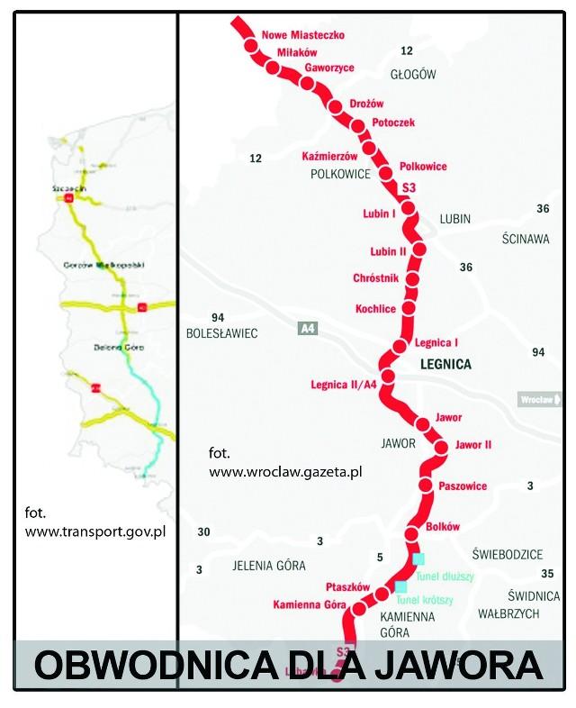 Burmistrz Jawora apeluje do ministra transportu o budowę odcinka S3. Przekonuje, że ta inwestycja była zaplanowana i jest bardzo ważna dla całego Dolnego Śląska.