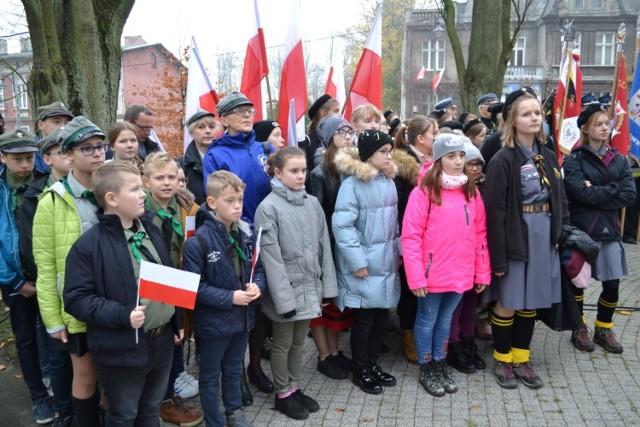 Powiatowo-gminne uroczystości z okazji 100. rocznicy odzyskania przez Polskę niepodległości, odbyły się w Kartuzach.