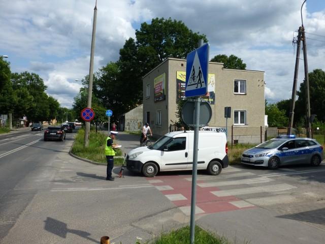 Do wypadku doszło około godziny 15. na rogu ulic Okulickiego i Zgodnej.