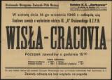 Historyczne plakaty z meczów Cracovii z Wisła z lat 1946/47 [GALERIA]