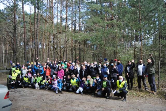 W pierwszej akcji na Kurnosie padł rekord, było ponad osiemdziesięciu uczestników!