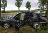 Niebezpiecznie na drodze nr 55 - wypadek w okolicy Sztumskiej Wsi