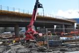 Uwaga. Marzec na budowie obwodnicy Wałbrzycha. Najnowsze zdjęcia i nowe utrudnienia