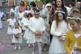 BOŻE CIAŁO: Msza święta i procesja do czterech ołtarzy w Bazylice Mniejszej w Krotoszynie [ZDJĘCIA]