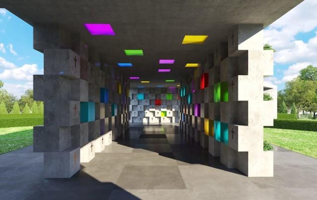 Projekt ciechocińskiego kolumbarium przygotowuje Pracownia Architektoniczna Archi Size Jakub Kaczorowski