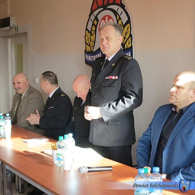 Komendant PSP w Bełchatowie mówił, że 2019 był rokiem spokojnym, ale bardzo pracowitym