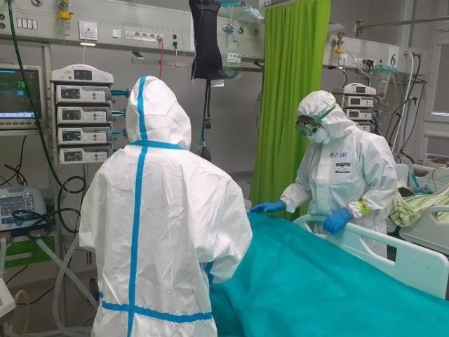 Oddział covidowy w czeladzkim szpitalu ratował ludzi z całego województwa śląskiego   Zobacz kolejne zdjęcia/plansze. Przesuwaj zdjęcia w prawo - naciśnij strzałkę lub przycisk NASTĘPNE