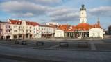 Białystok jak miasto duchów. Tak wyglądały ulice stolicy woj. podlaskiego w czerwonej strefie. Przejmujący widok [ZDJĘCIA]